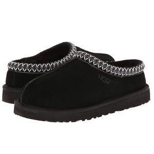 UGG Tasman Classic Black Suede Slipper Size 9